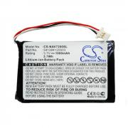 GPS battery for Navigon 72 Easy, 72 Plus Live, 541384120003 et. al