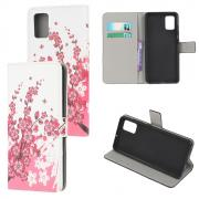 Taltech Wallet Cover for Samsung Galaxy A41 - Flower