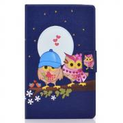 "Taltech Cover for Galaxy Tab A7 10.4"" 2020 - Couple Owls"