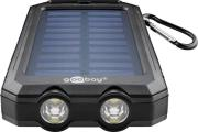 goobay Goobay Outdoor Powerbank Solar 8.0 - 8000 mAh