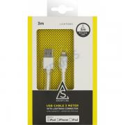 OEM Smartline MFI Lightning USB Cable 3m White