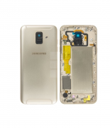 Galaxy A6 2018 Back Cover Gold