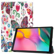 Taltech Tri-fold Cover for Samsung Galaxy Tab A 10.1 2019 - Butterflies