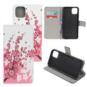 Taltech Wallet Cover for iPhone 12 Mini - Plum Blossom