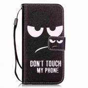 Taltech Cover for iPhone 7 & 8 - Don't touch my phone""