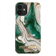 iDeal of Sweden iDeal Fashion Case for iPhone 12 Mini - Golden Jade Marble