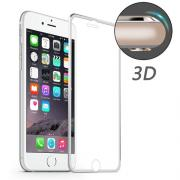 Taltech HAT PRINCE Tempered Screen Protection w. frame for iPhone 7/8 - Silver