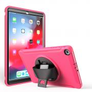 "Taltech Case with Built-in Stand for Samsung Galaxy Tab A 10.1"" 2019 - Pink"