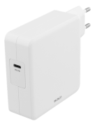 DELTACO Deltaco 87W Charger, USB-C PD, Fast Charging, MacBook, iPhone ,