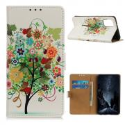 Taltech Wallet Cover for OnePlus 9 - Butterfly/Flower/Tree
