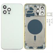 NONAME iPhone 12 Pro Max Complete Back Cover Glass with Frame - White