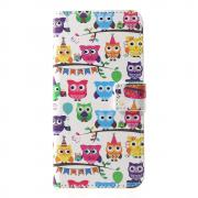 Taltech Wallet Cover for Huawei P30 - Owls