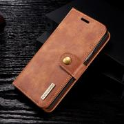 DG.MNG Cover 2-in-1 Splt Leather for Samsung Galaxy S9 - Brown