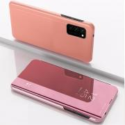 Taltech Cover View + Mirror for Samsung Galaxy A41 - Rose Gold