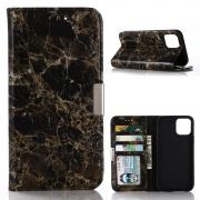 Taltech Marble Cover for iPhone 12/12 Pro - Black