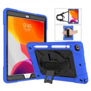 "Taltech Case with Strap & Stand for iPad 10.2"" 2019/2020 - Blue"
