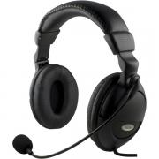 DELTACO DELTACO headset with Microphone, Black