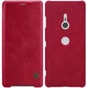 Taltech Nillkin Qin Series Cover for Sony Xperia XZ3 - Red