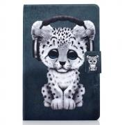 "Taltech Cover with Stand for iPad 10.2"" 2019 - Leopard"