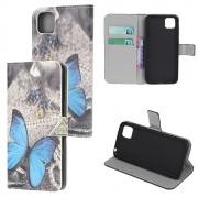 Taltech Wallet Cover for Huawei Y5p - Butterfly