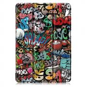 "Taltech Tri-fold Cover with Stand for iPad 10.2"" 2019 - Graffiti"