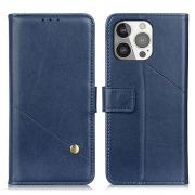 Taltech PU Leather Wallet Case for iPhone 13 Pro - Blue