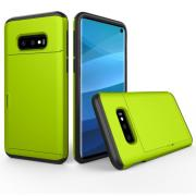 Hybrid Protector Case with Cardslot for Samsung Galaxy S10e - Green