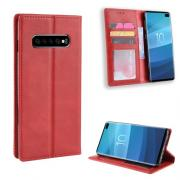 Vintage Cover for Samsung Galaxy S10 Plus - Red