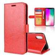 Taltech Crazy Horse Cover for iPhone XR - Red