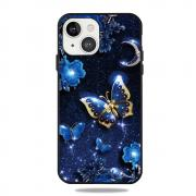 Taltech Clear Fashion Case for iPhone 13 - Jewelry Butterfly