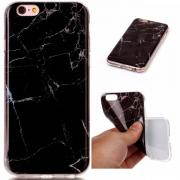 Taltech Soft TPU Case for iPhone 6-6S - Black Marble