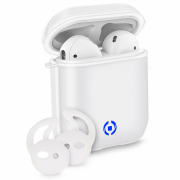 Celly Celly Aircase Cover for Apple AirPods - White