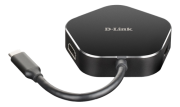 D-Link D-Link 4?in?1 USB?C Hub with HDMI and Power Delivery