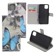 Taltech Wallet Cover for iPhone 12 Mini - Butterfly