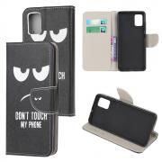 Taltech Wallet Cover for Samsung Galaxy A02s - Don't Touch