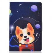 Taltech Tablet Case with Card Slots for iPad 10.2 2019 - Space dog