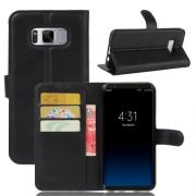 Taltech Wallet Cover for Samsung Galaxy S8 Plus - Black