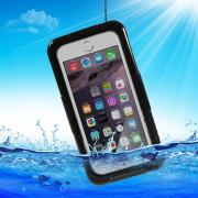 Waterproof Cover for iPhone 6-6S, Black