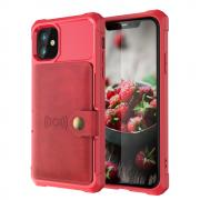 Taltech Kickstand Case for iPhone 12 & 12 Pro - Red