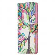 Taltech Wallet Cover for Samsung Galaxy A72 4G/5G - Colorful Tree