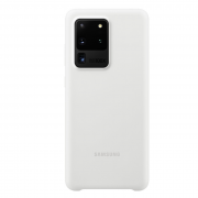 Samsung Samsung Silicone Cover for Samsung Galaxy S20 Ultra - White
