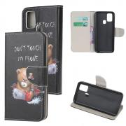 Taltech Wallet Cover for Samsung Galaxy A21s - Bear