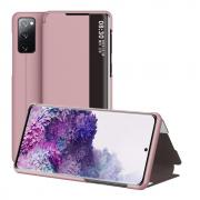 Taltech View Window Cover for Samsung Galaxy S20 FE - Rosegold