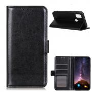 Taltech Crazy Horse Wallet Cover for OnePlus Nord N10 - Black