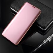 Window Mirror Cover for Samsung Galaxy S10 - Rosegold