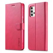 Taltech LC.IMEEKE Wallet Cover for Samsung Galaxy A32 5G - Pink