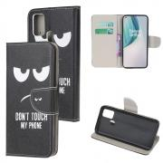 Taltech Wallet Cover for OnePlus Nord N10 - Don't Touch