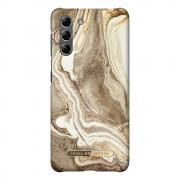 iDeal of Sweden iDeal Fashion Case for Samsung Galaxy S21 - Golden Sand Marble