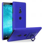 IMAK Case with Phoneholder + Stand for Sony Xperia XZ3 - Blue