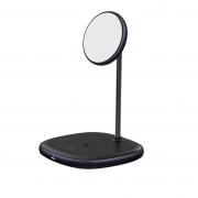 Baseus Baseus Swan Wireless Charger for iPhone 13 & iPhone 12, 20W - Black